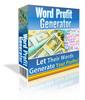 Thumbnail *NEW!* Word Profit Generator - Script Makes You Money