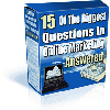 Thumbnail *NEW!* 15 Of The Biggest Questions In Online Marketing Answered