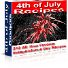 Thumbnail *NEW!* Fourth of July 4th Independence Day Party Recipes - Resale Rights