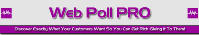 Thumbnail  *NEW!*  Web Poll Pro -Master Resale Rights
