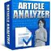*NEW!* Article Analyzer -Resale Rights | Get More Targeted Search Engine Traffic With Articles Optimized