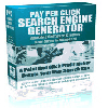 *NEW!* Pay Per Click Search Engine Generator w Master Resell Rights | Generate your own profitable Pay Per Click Search Site...in less than a minute!