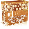 Thumbnail *NEW!* Automatic Web Site Audio For Newbies - MASTER RESALE RIGHTS - Add Audio to Your Website in 5 Minutes Flat