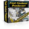 *NEW!* Fast Content Producer Software Program