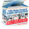 Thumbnail *NEW!*  The Mega Private Label Article Pack - MASTER RESALE RIGHTS