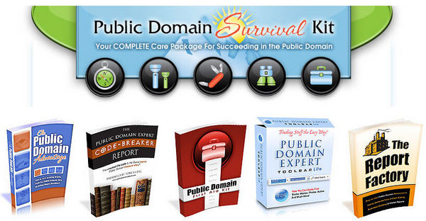 Product picture *NEW!* The Public Domain Survival Kit W Master Resell Rights