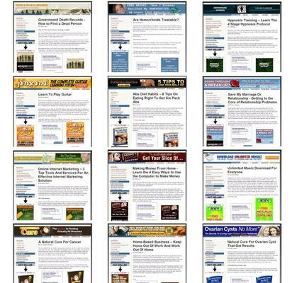 Product picture *NEW!* 47 Ready Made Clickbank Websites Mrr