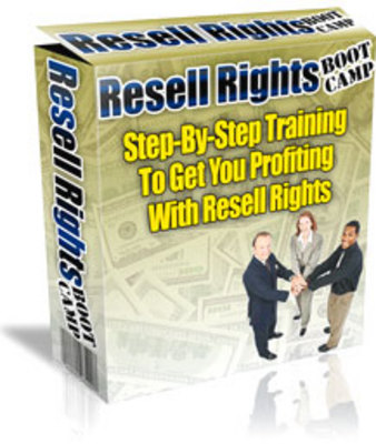 Product picture *NEW!* Internet Marketing Resell Right Boot Camp audio book