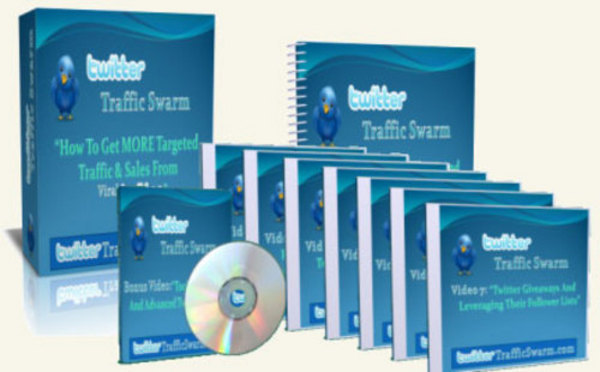 Product picture *NEW!* Twitter Traffic Swarm with Master Resale Rights