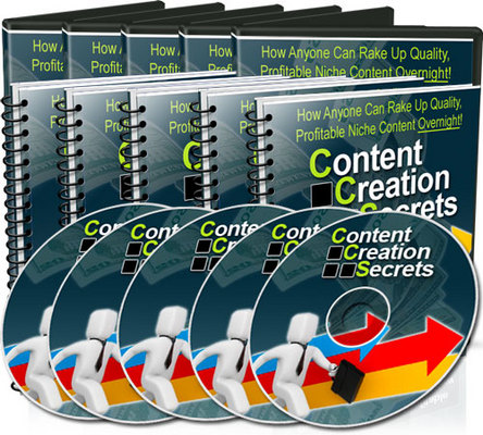 Product picture *NEW!* Content Creation Secrets video series MRR