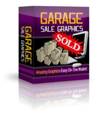 Product picture *NEW!* Garage Sale Graphics Master Resell Rights