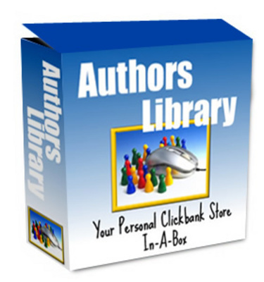 Product picture *NEW!* Authors Library Clickbank Store Mrr