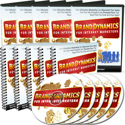 Product picture *NEW!* Brand Dynamics for Internet Marketers with MRR