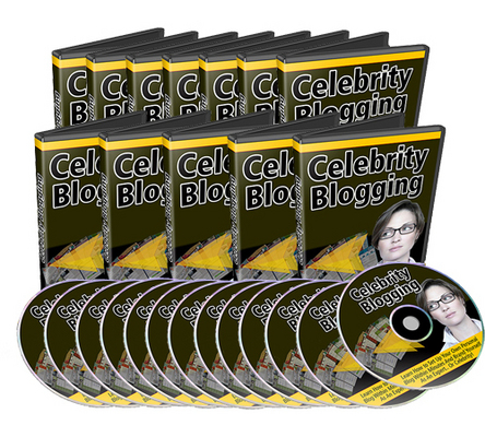 Product picture *NEW!* Celebrity Blogging Videos Series With MRR
