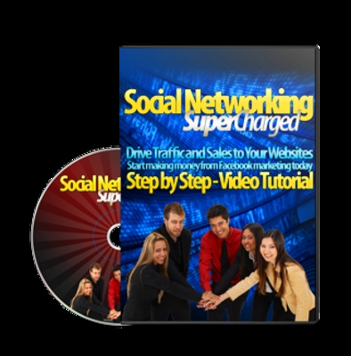 Product picture *NEW!* Social Networking Supercharged w Master Resale Rights