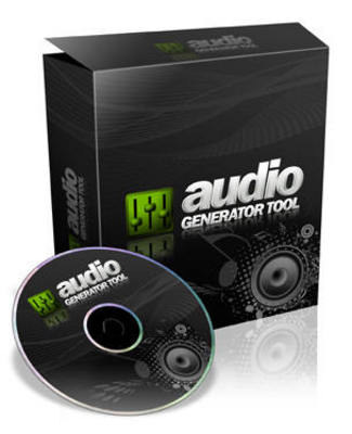 Product picture *NEW!* Audio Generator Tool Audio Generator Software