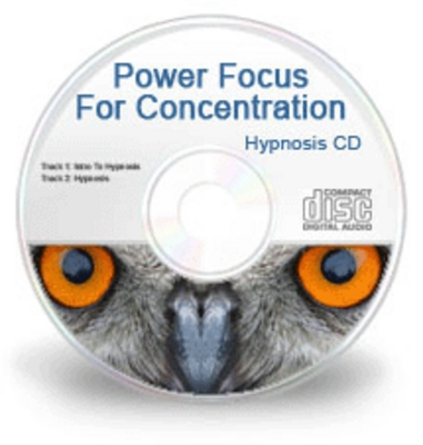 Product picture *NEW!* Hypnosis For Improved Focus And Concentration (Audio) audio book