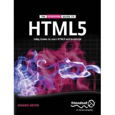 Product picture *NEW!* The Essential Guide to HTML5 Using Games to learn