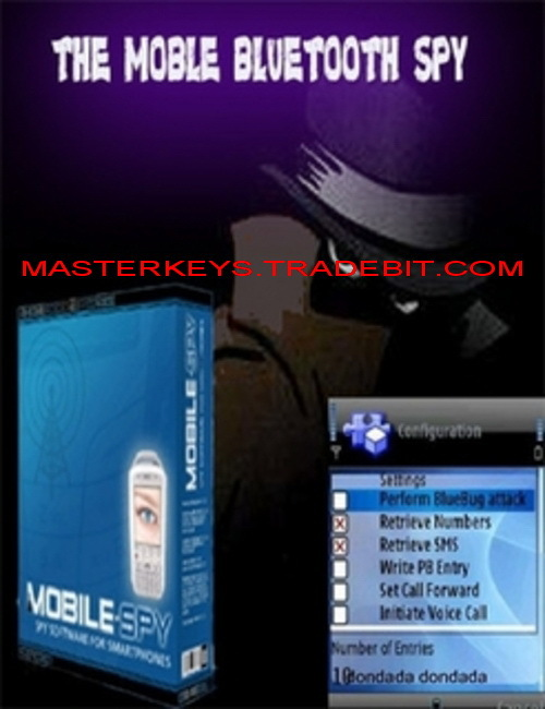 Product picture *NEW!* The Mobile BlueTooth Spy Software (Latest Version)