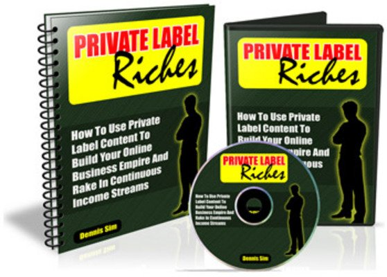 Product picture *NEW!* Private Label Riches With Master Resale Rights