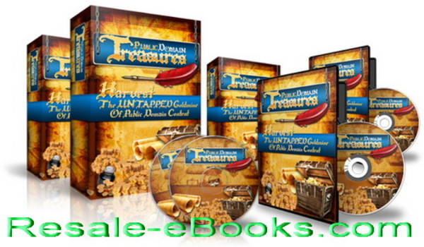 Product picture *NEW!* Public Domain Treasures With Master Resale Rights
