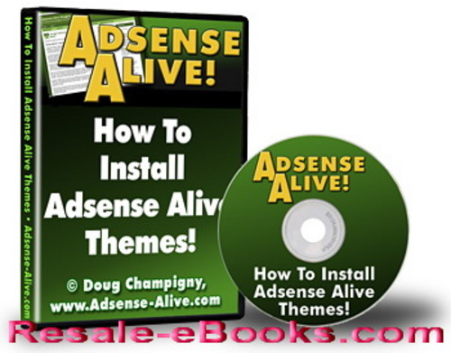 Product picture *NEW!* Adsense Alive Theme Pack Wordpress Videos MRR