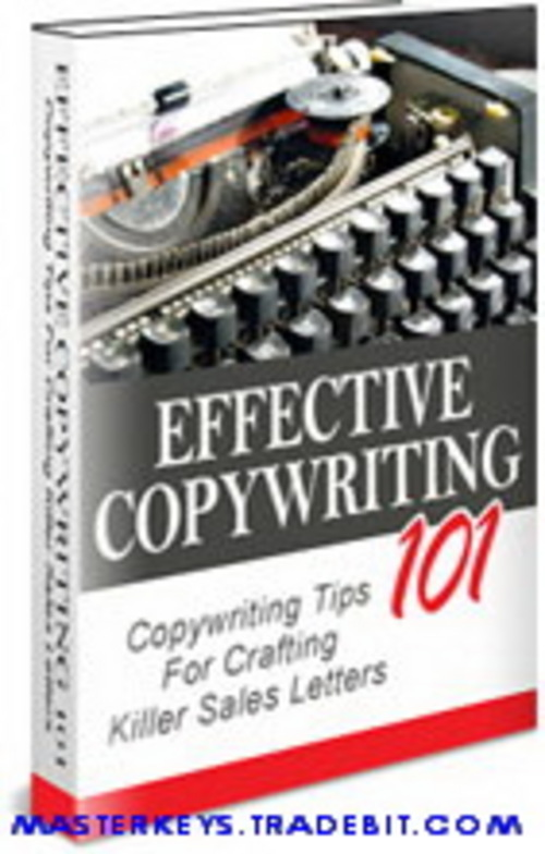 Product picture *NEW* Effective Copywriting 101 guide ebooks download