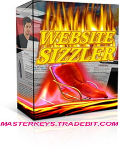 Product picture *NEW!*  Website Sizzler - PLR | Quickly Develop Content Rich Websites!