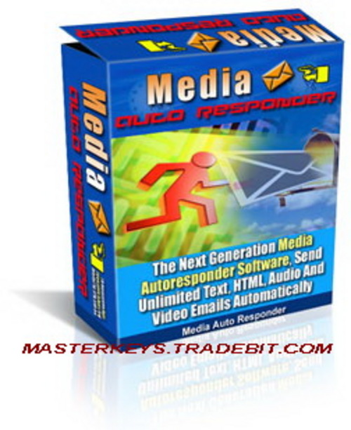 Product picture *NEW!* Media Autoresponder - With Master Resale Rights | Autoresponder Email Software