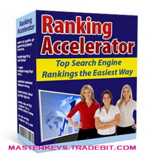Product picture *NEW!* Ranking Accelerator - Top Search Engine Rankings the Easiest Way script download