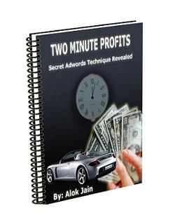 Product picture *NEW*   Two Minute Profits | How an Adwords campaign that costs $4.22 makes me $414.76 every month. And how I replicate it in just 2 minutes