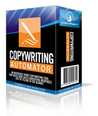 Product picture *NEW!* Copywriting Automator Software with Resell Rights