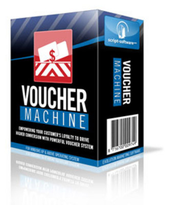 Product picture *NEW!* Voucher Machine Software - With Resale Rights