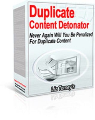 Product picture *NEW!* Real Duplicate Content Detonator With MRR