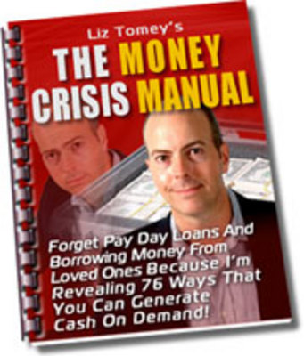 Product picture *NEW!*  Thumbnail The Money Crisis Manual with Resale Rights