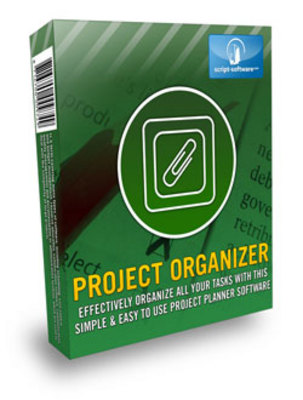 Product picture *NEW!* Project Organizer with Resale Rights