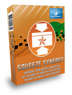 Product picture *NEW!* Squeeze Synergy With Resale Rights