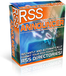 Thumbnail *NEW!*  RSS Announcer | Get Thousands of Links Automatically - PRIVATE LABEL RIGHTS