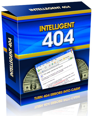 Product picture *NEW!* Intelligent 404 Software - MASTER RESALE RIGHTS   Advice, Guidance and Examples of 404 error pages