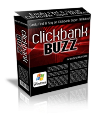 Product picture *NEW!* ClickBank Buzz Competition Spy W Resale Resell Rights