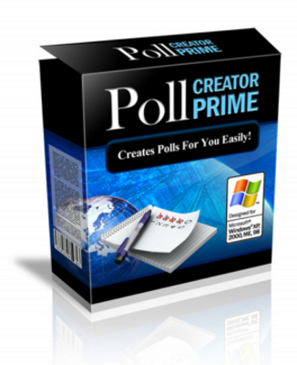 Product picture *NEW!*  Poll Creator Prime With MRR