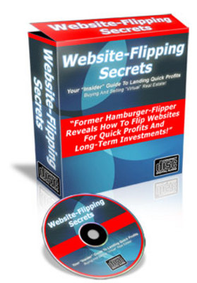 Product picture  *NEW!* Website Flipping Secrets - Insider Guide To Landing Quick Profits Buying And Selling Virtual Real Estate -Master Resale Rights