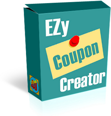 Product picture  *NEW!* Ezy coupon creator software -Master Resale Rights