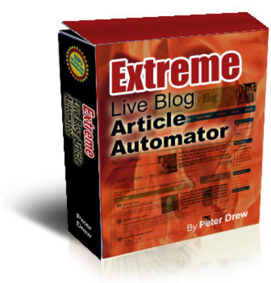 Product picture  *NEW!* Extreme Live blog Article Autom-Master Resale Rights