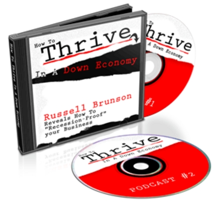 Product picture  *NEW!* How To Thrive In A Down Economy-Master Resale Rights