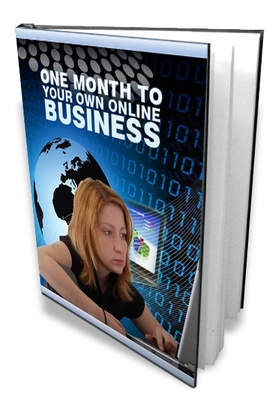 Product picture  *NEW!* One Month To Your Own Online Business - MRR