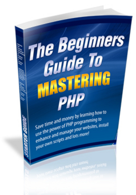 Product picture  *NEW!* The Beginners Guide To Mastering PHP - MRR
