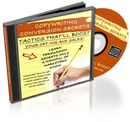 Product picture  *NEW!* Copywriting Conversion Secrets With Resale Rights
