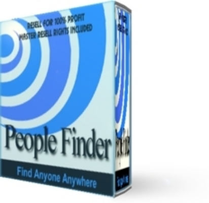 Product picture  *NEW!* People Finder - Master Resell Rights