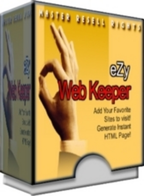 Product picture  *NEW!* eZy Web keeper -Master Resale Rights